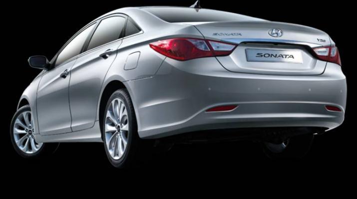 New Hyundai Sonata i40 - 3