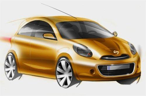 Nissan Micra sketch