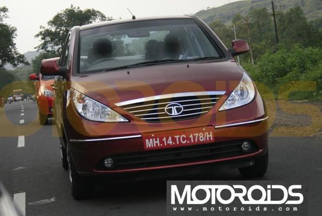 Tata Indigo Manza front rear - 1