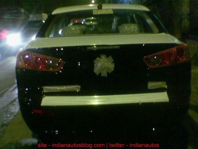 New Mitsubishi Lancer India