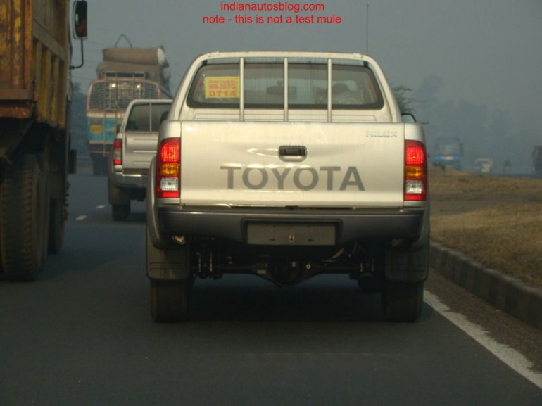 Toyota Hilux India