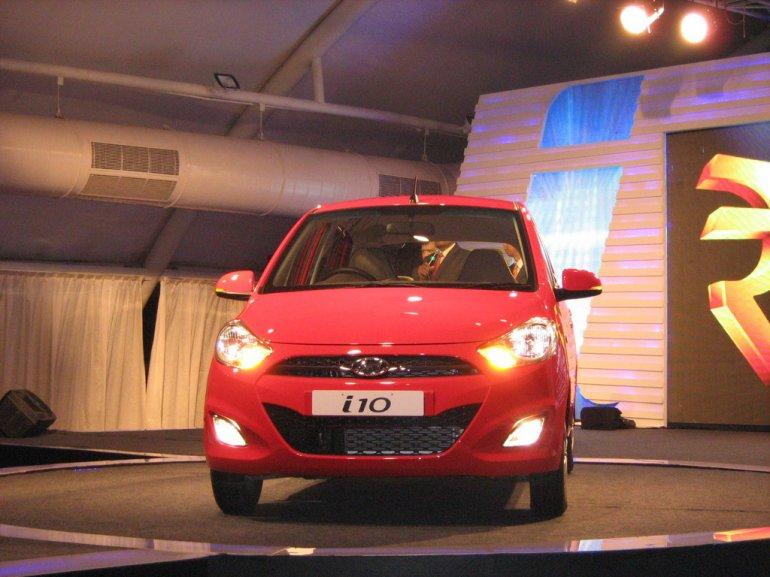new Hyundai i10 VTVT