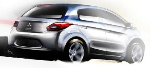 Mitsubishi-Small-Car