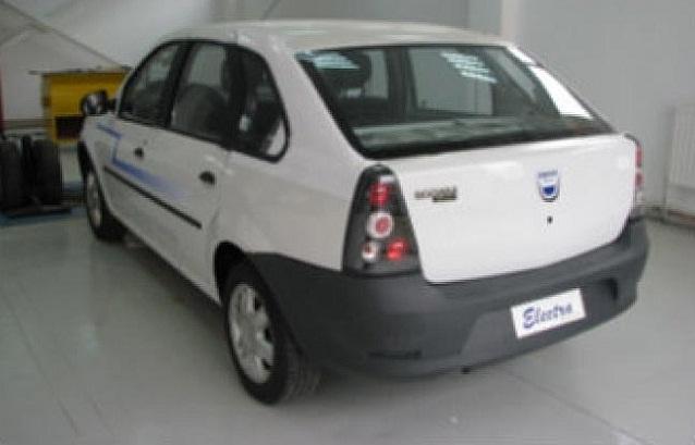 Dacia Electra rear angle