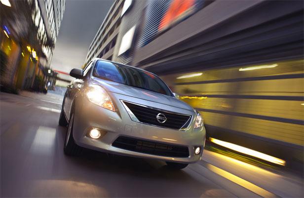 2012 Nissan Versa America front left