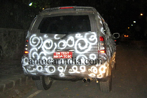 Force Motors SUV rear
