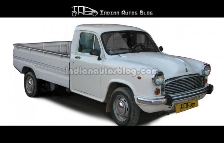 Hindustan Motors Ambassador pickup
