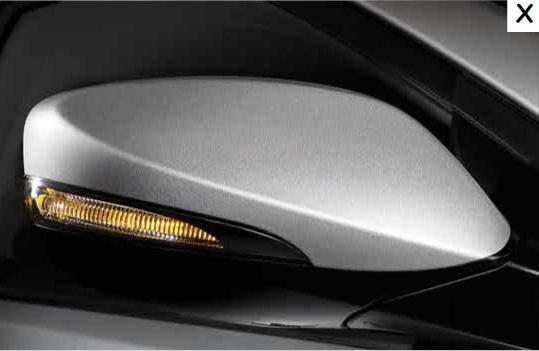 new Hyundai Verna rear view mirror