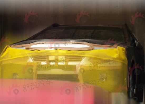 2012 Toyota Camry spyshot front