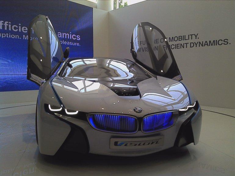 BMW Efficient Dynamics concept New Delhi front