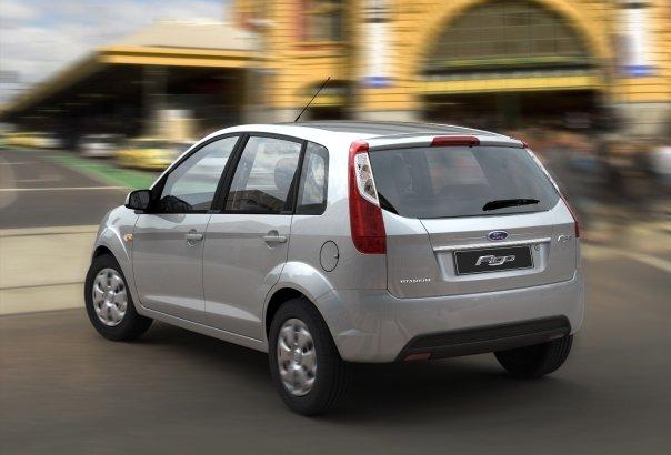 Ford Figo rear