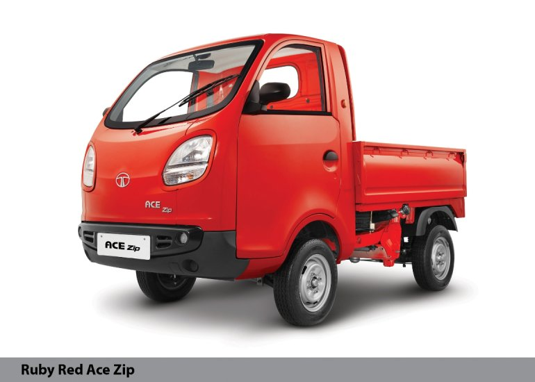 Tata Ace Zip red side