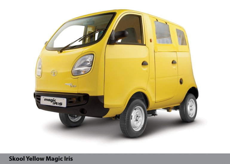 Tata Magic Iris yellow front