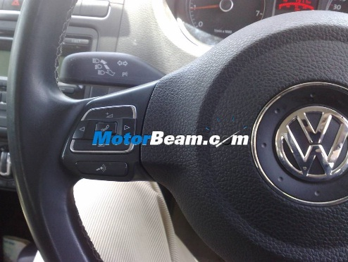 VW Polo Bluetooth steering controls