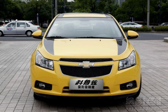 Chevrolet Cruze Transformers 3 front