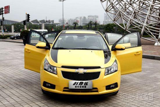 Chevrolet Cruze Transformers 3 doors open