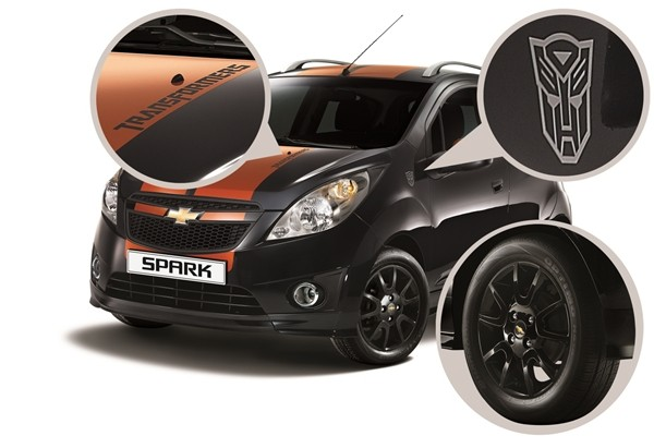 Chevrolet Spark Transformers Korea