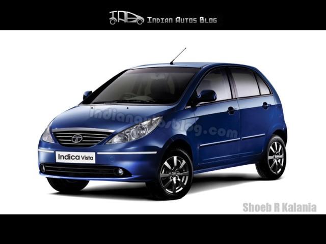 Tata Indica Vista facelift front
