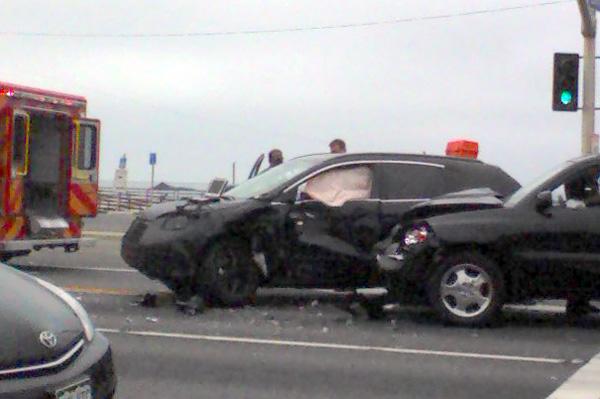 new Honda CR-V crash