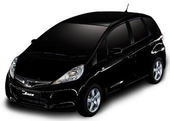 Honda Jazz Facelift black