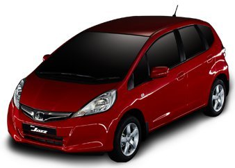 Honda Jazz Facelift red