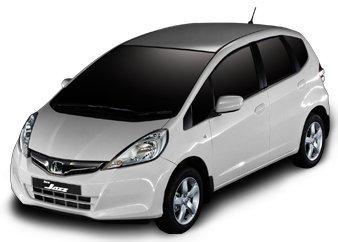 Honda Jazz Facelift white