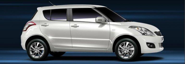 Maruti Suzuki Swift white