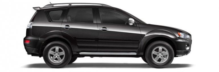 Mitsubishi Outlander Chrome Edition side