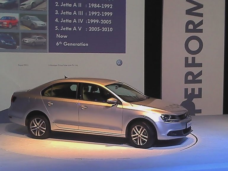 New Volkswagen Jetta India