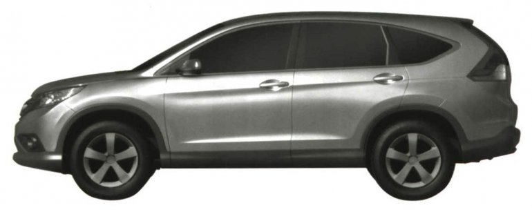 2012 Honda CR-V side profile