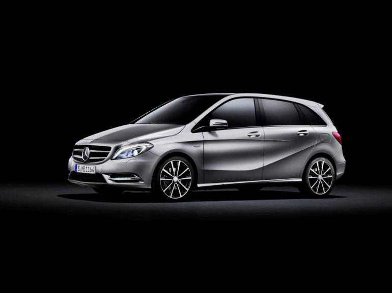 Mercedes Benz B-Class side