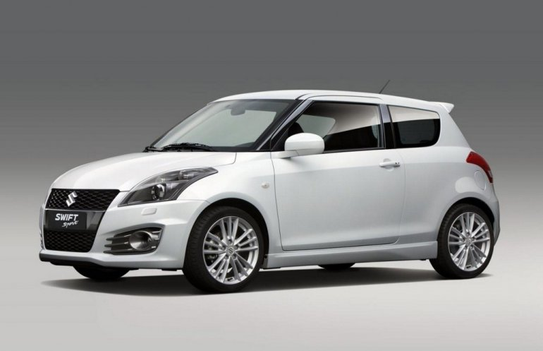 Suzuki Swift Sport side