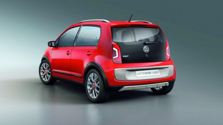 Volkswagen Cross Up rear