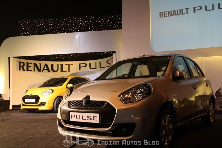 Renault Pulse yellow