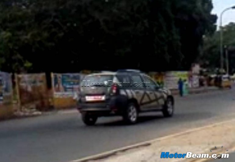 Renault Duster Spied in Chennai