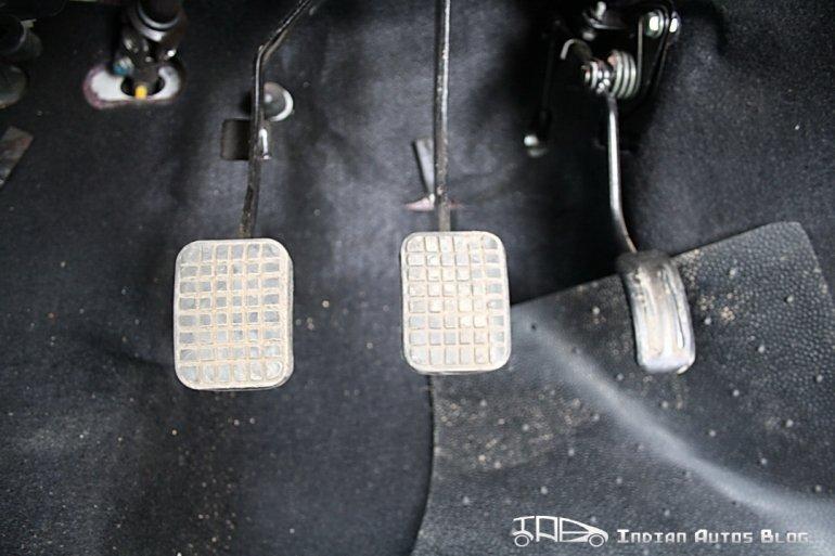 2012 Tata Nano pedals