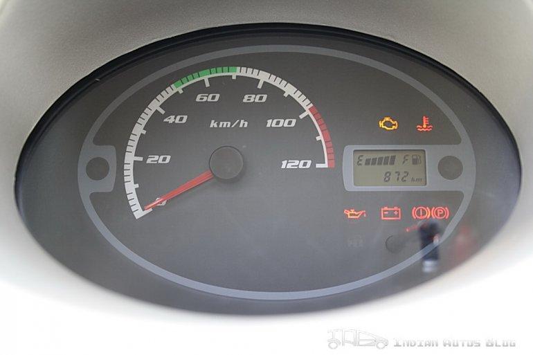 2012 Tata Nano speedometer