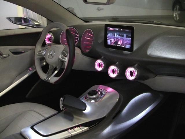 Mercedes Benz Concept A-Class interior