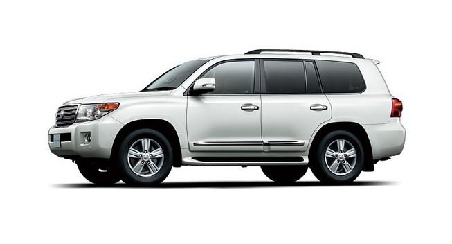 2012 Toyota Land Cruiser side profile
