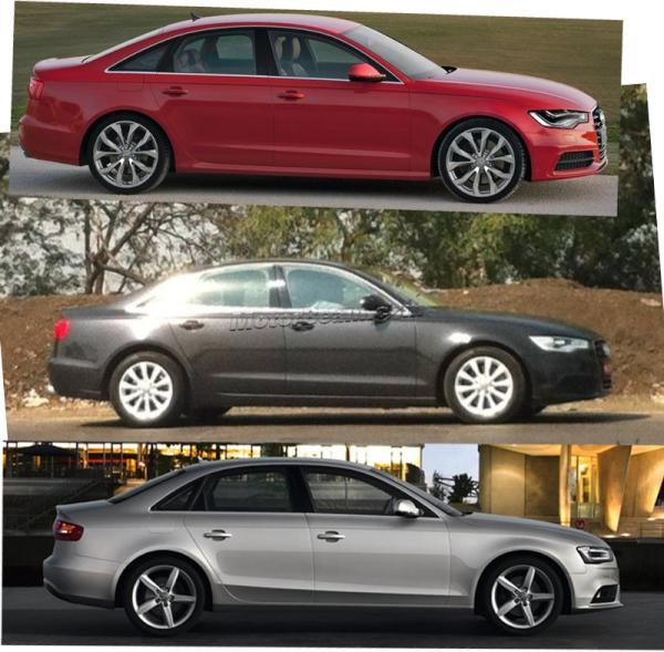 Audi A4 facelift vs Audi A6