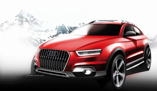 Audi Q3 concept crossover