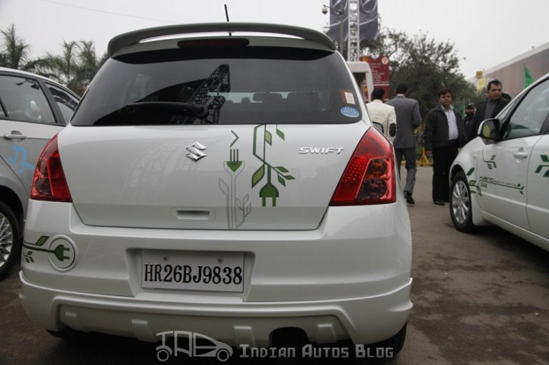 Maruti Swift hybrid rear