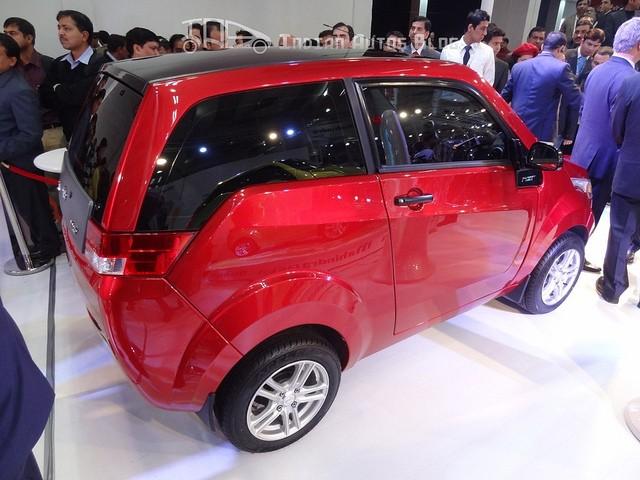 REVA NXR at Auto Expo 2012