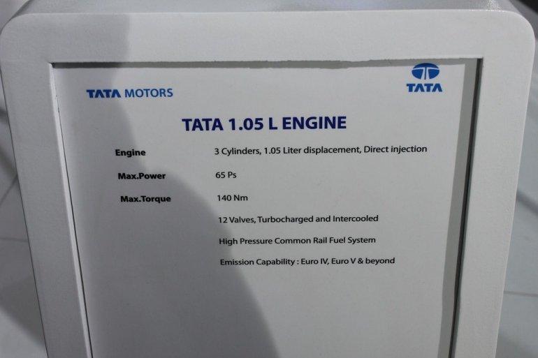 Tata 1-liter DICOR engine specifications
