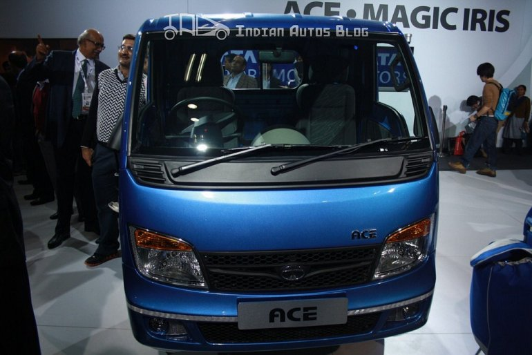 Tata Ace EX facelift