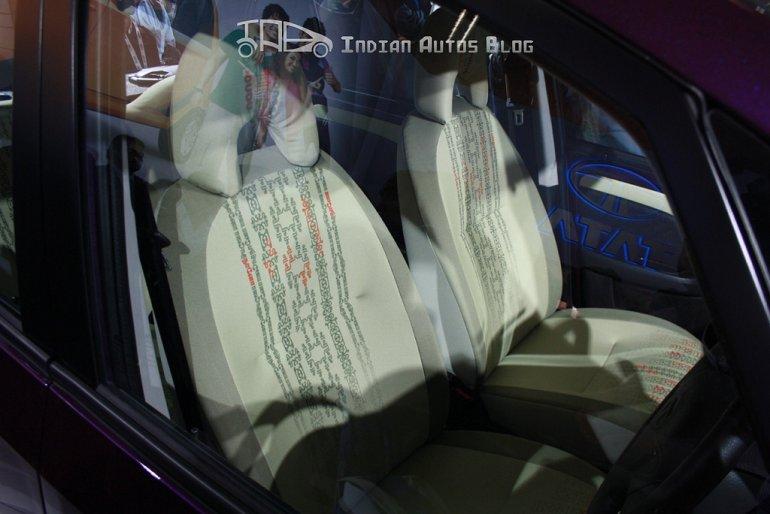 Tata Nano concept interior