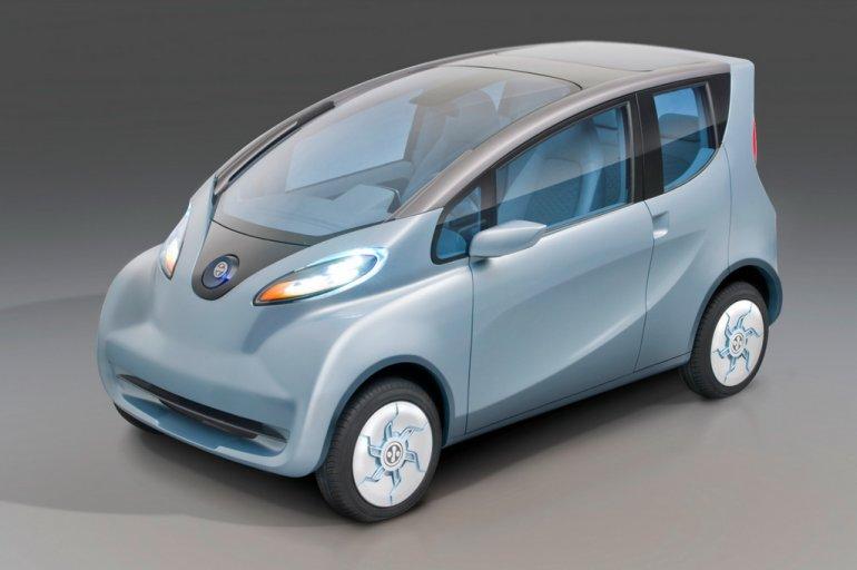 Tata eMO concept front