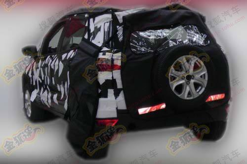 2012 Ford EcoSport spied in China (1)