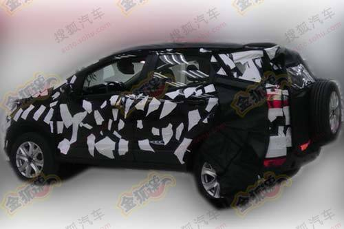 2012 Ford EcoSport spied in China