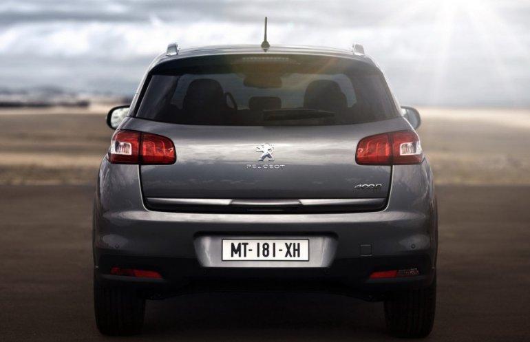 2012 Peugeot 4008 rear